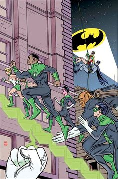 DC Celebrates Batman's 75th Anniversary With Mike Allred's 'Batman 66′ Inspired Variant Coverslip