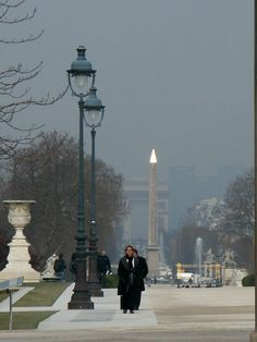 A winters day in Paris.