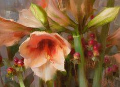 9 x 12 inches Daniel Keys, Daniel J, Great Paintings, Floral Paintings, Still Life Flowers, Keys Art, Still Life Art, Mixed Media Artists, Flower Art
