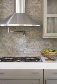 quartz or tiled backsplash - Google Search