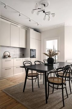 Our Home and huge discount (Sanne Alexandra) Kitchen Interior, New Kitchen, Kitchen Dining, Kitchen Decor, Dining Table, Kitchen Ideas, Dining Room, Home Room Design, Home Interior Design