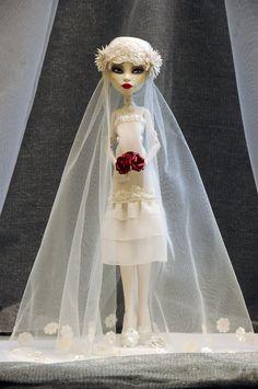 monster high - custom bride
