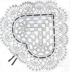 Cuori all'uncinetto: schemi dal web / Crochet hearts: diagrams from the web