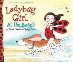 Ladybug Girl at the Beach by Jacky Davis