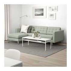 LANDSKRONA Sectional, - with chaise, Grann/Bomstad gray-green/wood - IKEA long by 62 chaise length by 35 sofa depth seat). how look under Ann/Garth's window? At Home Furniture Store, Modern Home Furniture, Living Room Sofa, Living Room Furniture, Living Rooms, Landskrona Sofa, Ikea Sortiment, Ikea Bank, Ikea Family