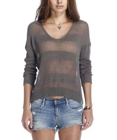 Look at this Smoke Ari Sweater on #zulily today!
