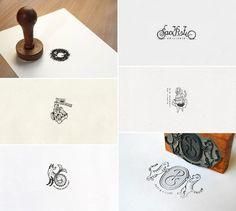 Custom ex-librīs (bookplates) designed by Hungarian Halisten Studio.