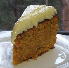 Swiss Carrot Cake With Mascarpone Icing  Try This? uses almond meal, breadcrumbs instead of flour