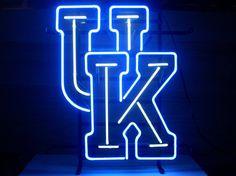 University Of Kentucky Wildcats Beer Bar Real by NeonLightSign, $99.00