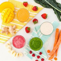 Start your morning right with these healthy and delicious smoothie recipes.