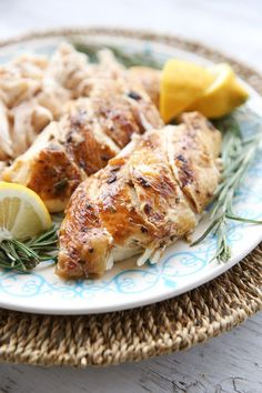 Pressure Cooker Whole Roasted Chicken with Lemon and Rosemary - Our Best Bites