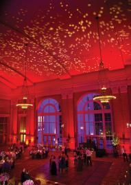 Union Station in Dallas looks absolutely magical, don't you agree? Photo by Sil Azevedo Photography #wedding #reception #ballroom