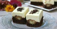 Hozzávalók a laphoz: 30 dkg háztartási keksz 10 dkg vaj 3 evőkanál porcukor 2 evőkanál cukrozatlan kakaópor 5 evőkanál habtejszín (nem kell felverni) 1 csomag…