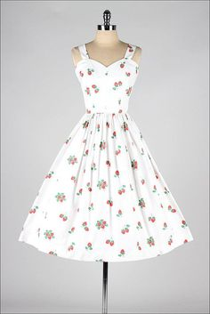 Strawberry Sprinkle Dress