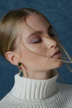Tourmaline Earrings by McFarlane Fine Jewellery Tourmaline Earrings, Valentines Day Gifts For Her, Fine Jewelry, Jewellery, Garnet, Jewelry Collection, Pendants, Drop Earrings, Create