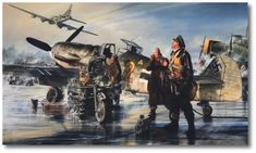 AVIATION ART HANGAR - Aviation art of Robert Taylor, John Shaw, William S. Phillips and others.
