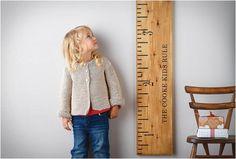 WOODEN RULER HEIGHT CHART - http://www.gadgets-magazine.com/wooden-ruler-height-chart/