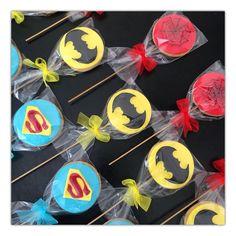 Spiderman cookie ,Batman cookie ,Superman cookie