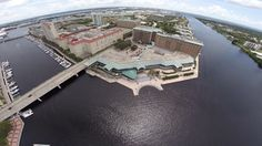 Harbour Island, Tampa, Florida, shot by Aerial Photographer Randy with Celebrations of Tampa Bay http://celebrationsoftampabay.com/aerial-video-tampa/