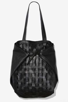 Leather Tote #bigadditions