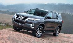The 2016 Toyota Fortuner full-size SUV is the passenger carrying sibling of the Hilux Revo truck Auto Spares, Release Date, New And Used Cars, Pickup Trucks, Spy, Cars For Sale, Cool Cars, Toyota, Automobile