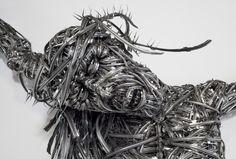 Abdel Abdessemed, Décor, 2011‐2012. Photo © Palazzo Grassi, ORCH Orsenigo Chemollo #art #venice #biennale 2013