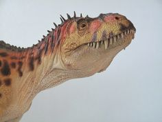 Head of #Torvosaurus model by Shane Foulkes