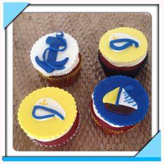 Sailor cupcakes