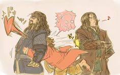 Thorin is such a tsundere...