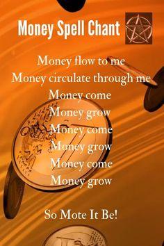 Powerful Money Spells, Money Spells That Work, Spells That Really Work, Witch Spell Book, Witchcraft Spell Books, Wiccan Books, Good Luck Spells, Love Spells, Real Magic Spells