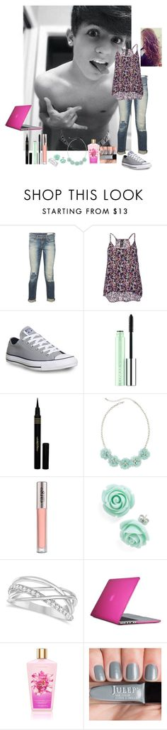 """Day w/ Dylan"" by chloanna ❤ liked on Polyvore featuring rag & bone, Converse, Clinique, Napoleon Perdis, Decree, CARGO, Allurez and Speck"