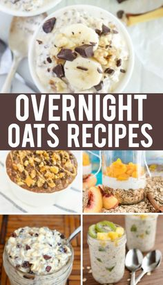 Overnight Oats Recip