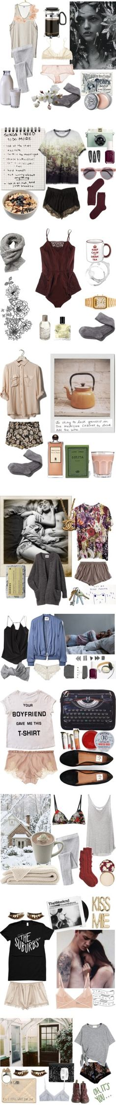 """""""Mornings"""" by kelly-m-o on Polyvore"""