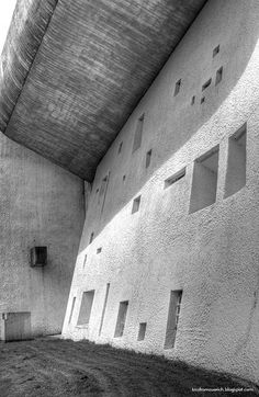 #NotreDameduHaut by #LeCorbusier, Ronchamps; if you haven't been here, you really cannot consider yourself an #architect.