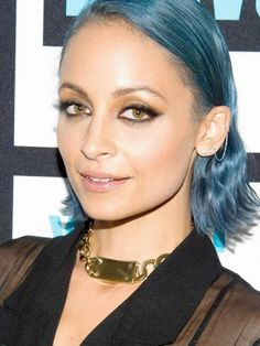 House of Harlow 1960 Jewelry ID Necklace in Gold as seen on Nicole Richie