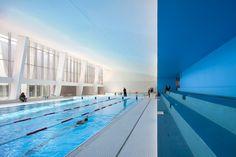 Dominique Coulon et Associés, Swimming pool in Bagneux