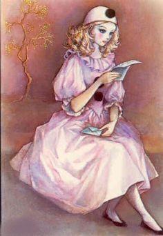 Pierrette reads the letter from Pierrot