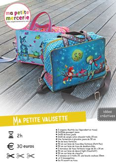DIY: The Laetibricole shopping bag - Ma petite mercerie - arabic styla Sewing Hacks, Sewing Tutorials, Sewing Tips, Sewing Clothes, Diy Clothes, Coin Couture, Sack Bag, Crochet Purses, Sewing Projects For Beginners