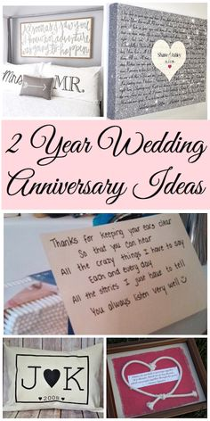 Best 2 Year Wedding Anniversary Gift Ideas Pictures - Styles ...