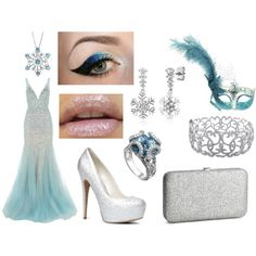 the ice queen by elecktra94 on Polyvore featuring moda, Jovani, ALDO, H&M, John Hardy, Ice, BERRICLE and Reeds Jewelers