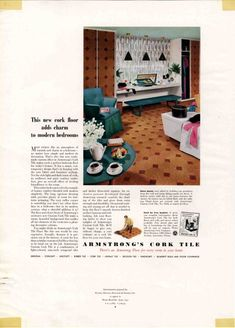 cork floor 1954-bedroom-armstrong