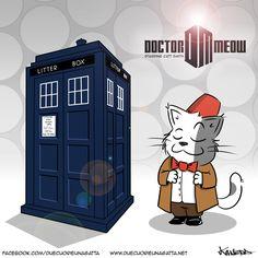 Doctor Meow more on http://www.duecuorieunagatta.net http://facebook.com/duecuorieunagatta