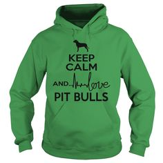 Keep calm and love American Pit Bull Terrier