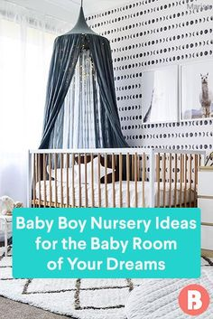 Designing a space for your baby boy? Get inspired by these baby boy nursery ideas. Baby Tips, Baby Hacks, Design A Space, Parents Room, Baby Furniture, Baby Boy Nurseries, Baby Care, Nursery Ideas, Color Inspiration