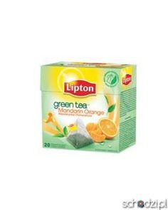 Lipton Green Tea mandarynka, pomarańcza 20t - Schodzi.pl