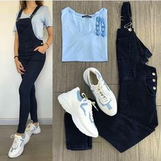 Casual Fall Outfits, Simple Outfits, Outfits For Teens, Stylish Dresses, Stylish Outfits, Cool Outfits, Girls Fashion Clothes, Fashion Dresses, Clothes For Women