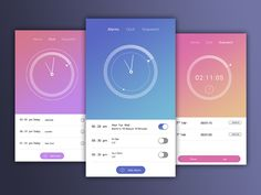Clock Mobile App by Swayam Tech Lab