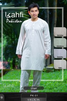 Pakistan style, #koko dilengkapi dengan #celana, simple & elegant style
