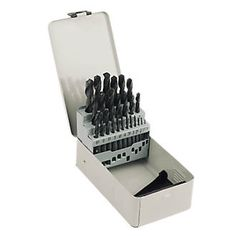 Screwfix HSS Metal Boxed Drill Bit Set Metric 25 Piece Top quality High Speed Steel Jobber Drill Bits. Sizes increase in 0.5mm increments. http://www.MightGet.com/january-2017-13/screwfix-hss-metal-boxed-drill-bit-set-metric-25-piece.asp