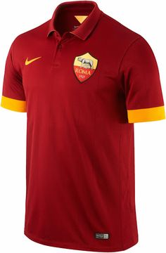 Nike AS Roma 14-15 (2014-15) Home, Away and Third Kits - Footy Headlines